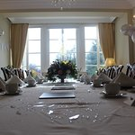 Lonsdale Room decorated for the Diamond Wedding Anniversary