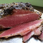 Smoked Brisket so good, it's bragged on by people from Texas.