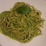 Pesto Spaghetti - delicious!