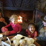 The Smoke House is all about  Families, Generations of them.