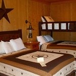Queen room.  $145.00 per night for 2 people, and $10.00 for each additional person.