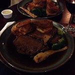 Average Sunday roast, Luke warm, soggy Yorkshires.