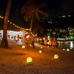 Wedding reception- beach