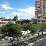 Vista de San Luis desde la habitación del hotel