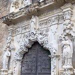 Church Facade at Mission San José y San Miguel de Aguayo