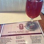 Berry cider was delicious!