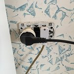 Plug outlets did not have covers...electrical hazard?!