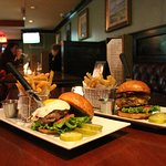 Times Square Burger and Dublin City Burger