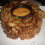 Onion loaf (basically a pile of onion rings)