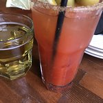 Bloody Mary + Chaser