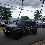 Tricked out local Jeeps