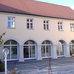 Edificio tipico de Donauworth.Museo de muniecas