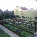 Vista del Jardín Francés desde la Habitación