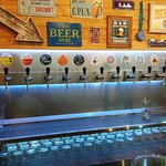 All beers on tap!