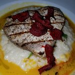 Swordfish in broth which not on the menu as of this writing. That is NOT a bad thing!
