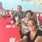 mac and my family at lake coatepeque !