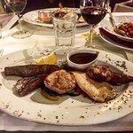 Parrillada de Carne (Fleischplatte vom Grill)
