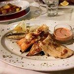 Parrillada de Pescado (verschiedene Fischfiletsvom Grill)
