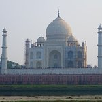 Taj Mahal from behind
