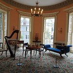 Music room at the Nathaniel Russell House.