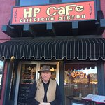 The HP Cafe is located in the heart of Uptown Sedona and was a lovely oasis of calm in a very bu