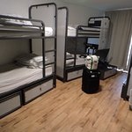 6 bed dorm room with ensuite.
