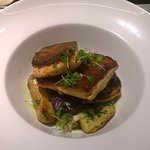 Arctic Char with Fingerling Potatoes and Salt Baked Beets and Salsa Jardinera (Dinner Feature)