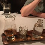 Haggis and scotch!