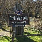 Civil War Fort at Boonesboro – fénykép
