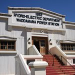 Waddamana Power Station Museum, the centre piece of the heritage listed Great Lake Power Scheme