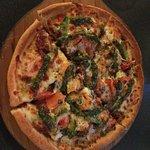 Cool unique pizzas on the menu