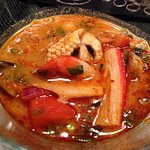 Tom Yum Seafood $8.50