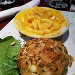 Crab Cake with Mac & Cheese
