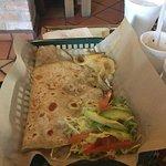 Nana's giant tortilla
