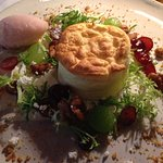 Entree - Goat Cheese Soufflé -  Dinner two courses $94.00