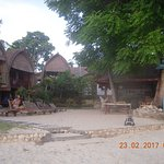 Bungalows and restaurant