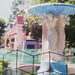 sculpture and the bust of MlQuezon