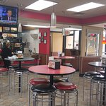 Inside of Hardee's, Dawson GA