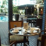 Pool + breakfast at 5th floor