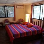 Deluxe room near the bamboo groove