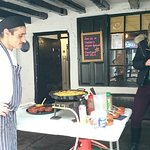 Tasting paella on Sunday, will definately go for a meal it was delicious