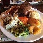 Sunday roast a friendly host and a real coal fire