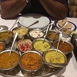 Awesome Himachali Thali