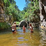 The swemgat up Dooring Kloof river, Baviaans Lodge