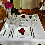 Table Setting in The Bowater Dining Room