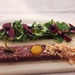 Steak tartar. Exquisito!