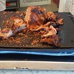 Roast beef hacked up