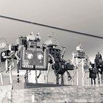 Exposición de Robots en tienda del museo