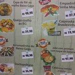 pratos participantes do comida de buteco