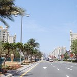 Palm Jumeirah. Golden mile.